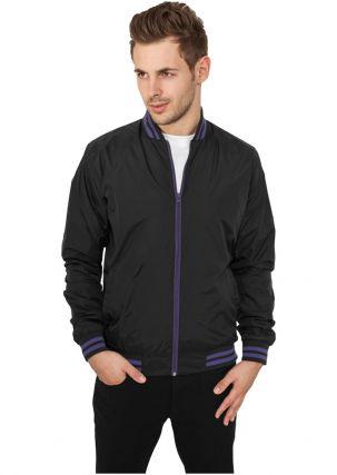Nylon College Jacket