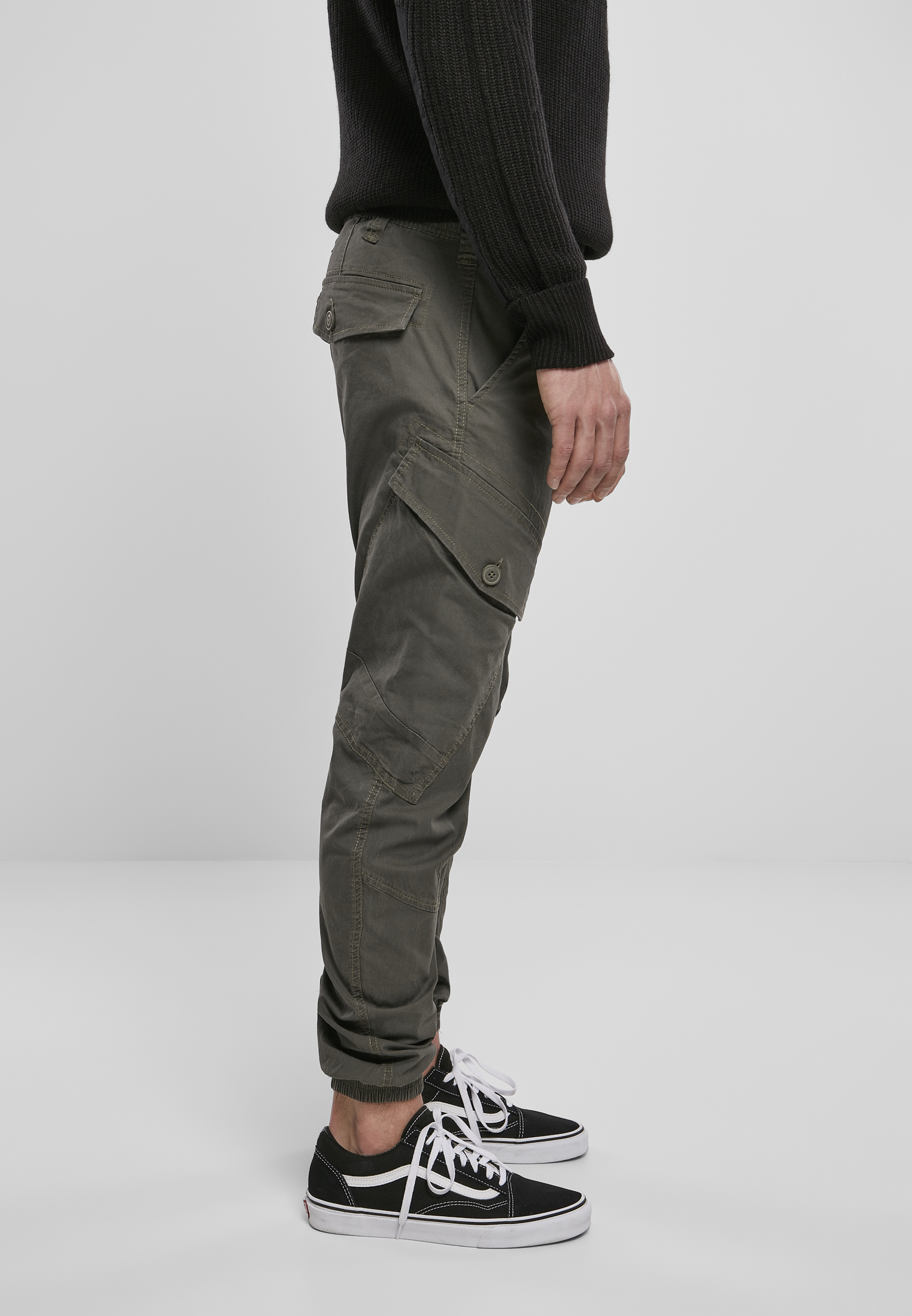Brandit Hose Ray Vintage Trousers in Olive