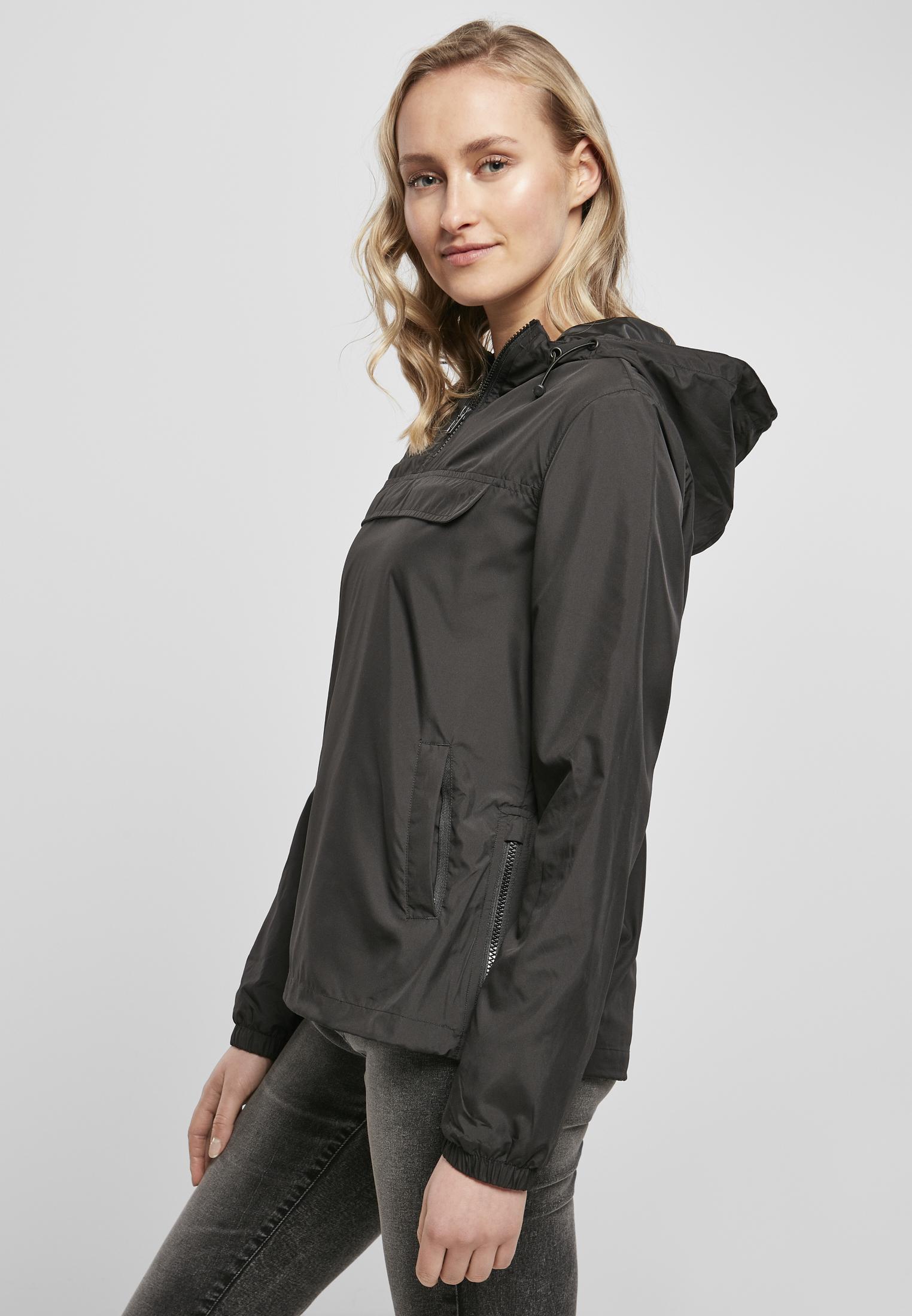 Build Your Brand-Ladies Basic Pull over Jacket Jusqu/'à 5xl