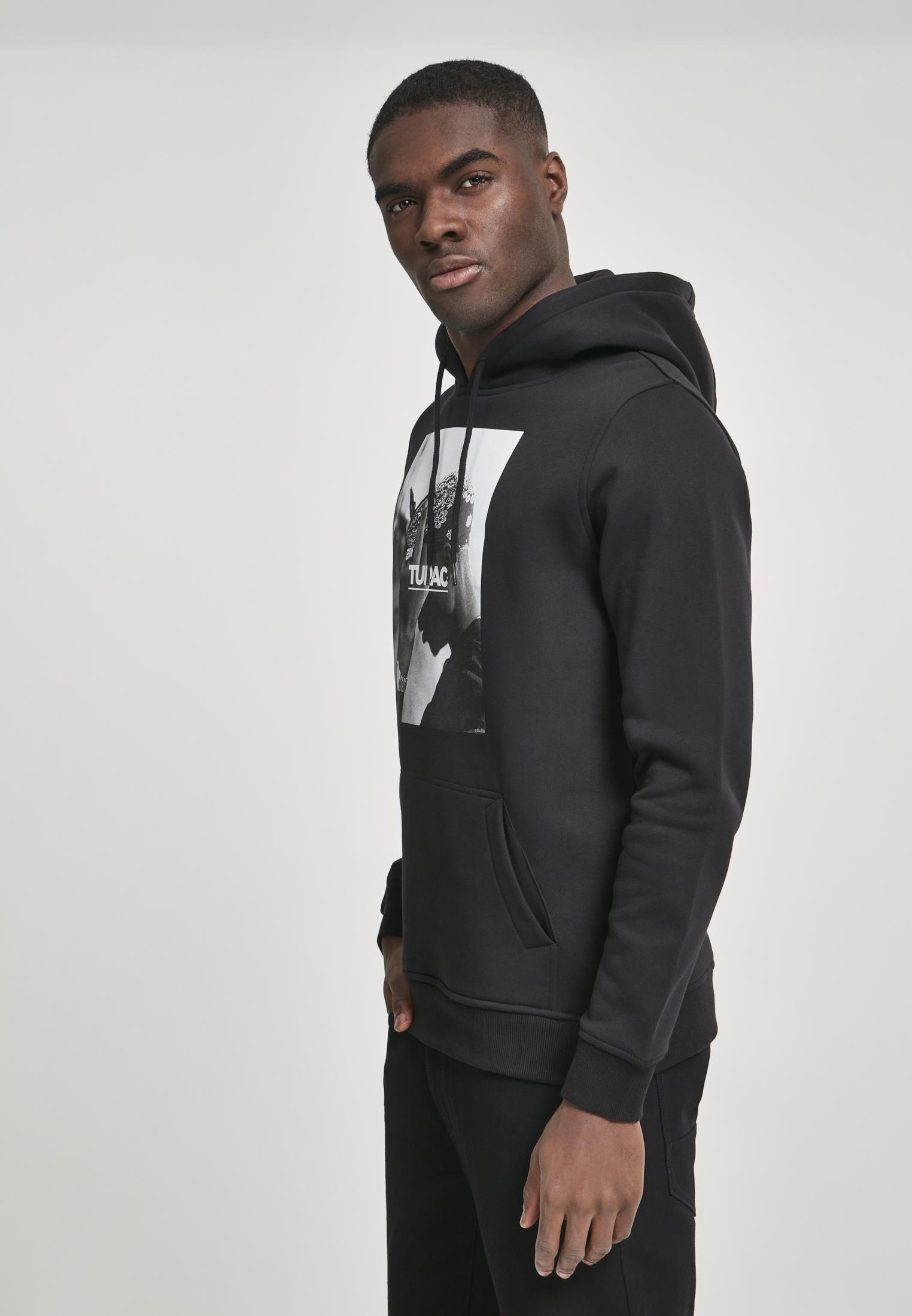 Mr. Tee 2Pac F*ck the World Hoody black
