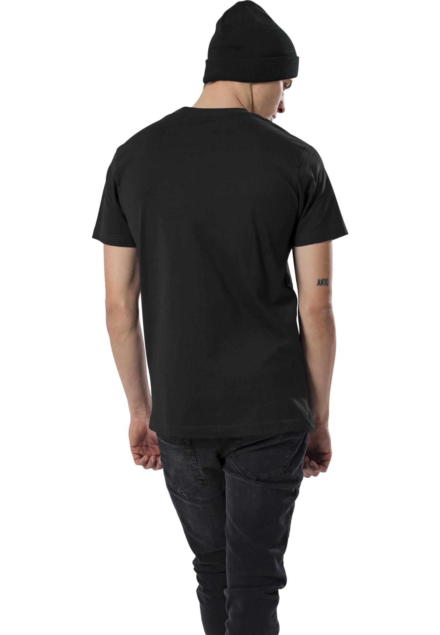 Urban Classics AC//DC Voltage Tee MT451 Black T-Shirt Herren S-5XL Übergrößen