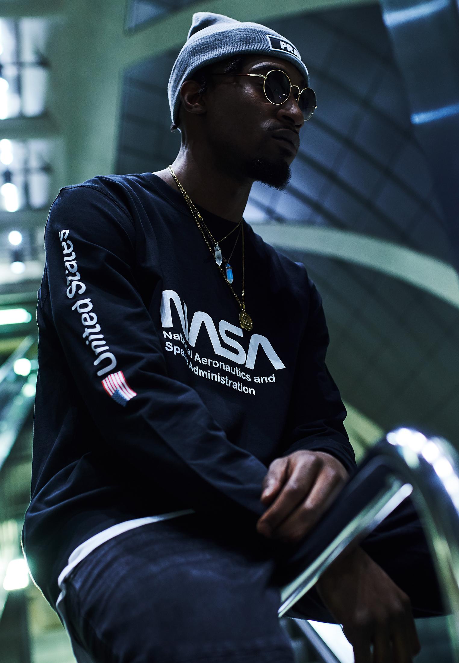 Mister Tee NASA Us Crewneck