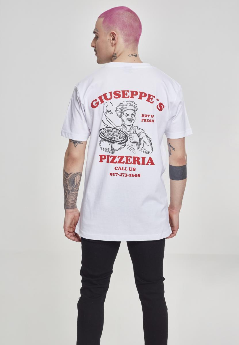 Giuseppes Pizzeria white Mister Tee Shirt