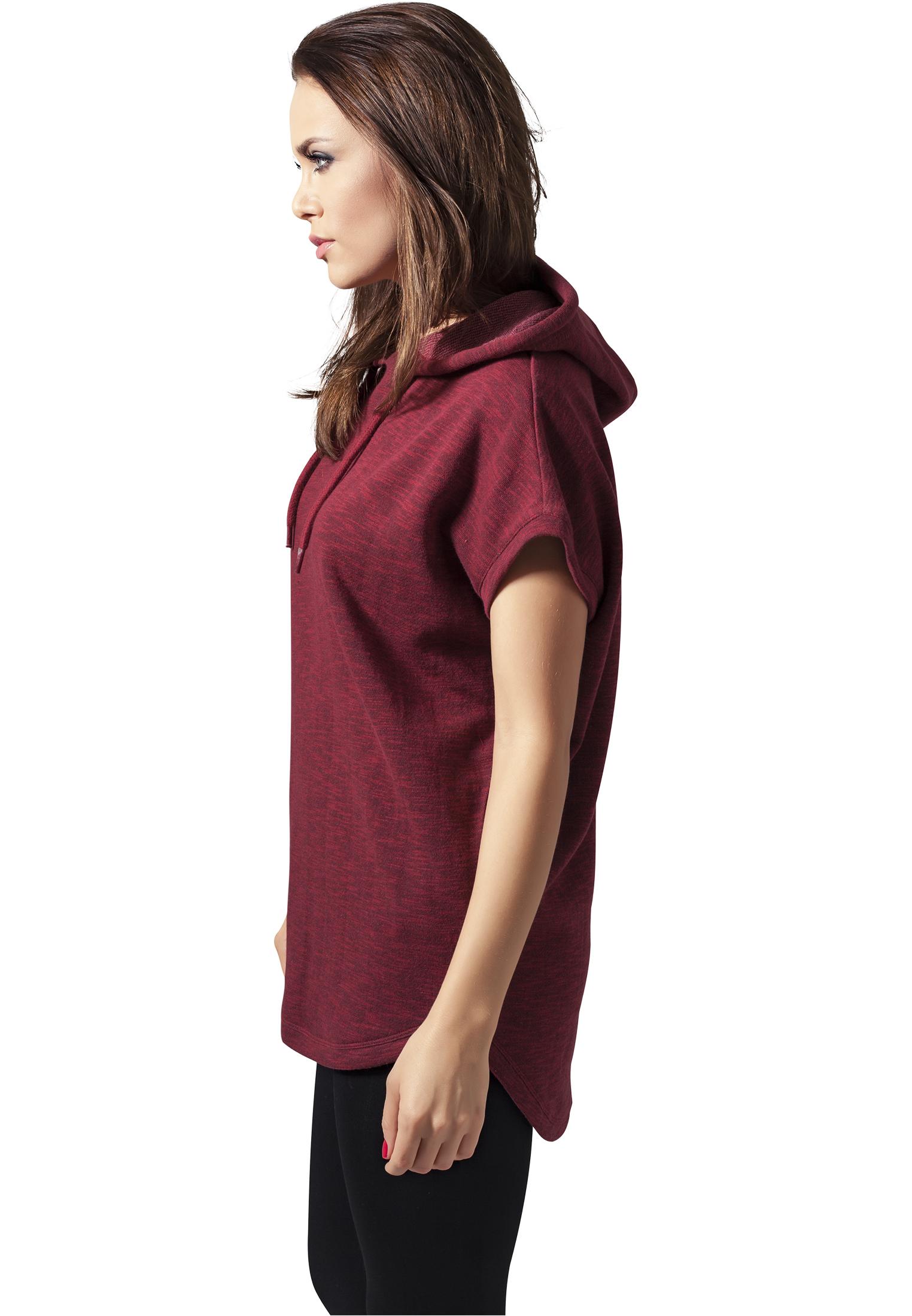 Urban Classics Damen Kapuzenpullover Hoodie Sweatshirt Melange Terry Hoody
