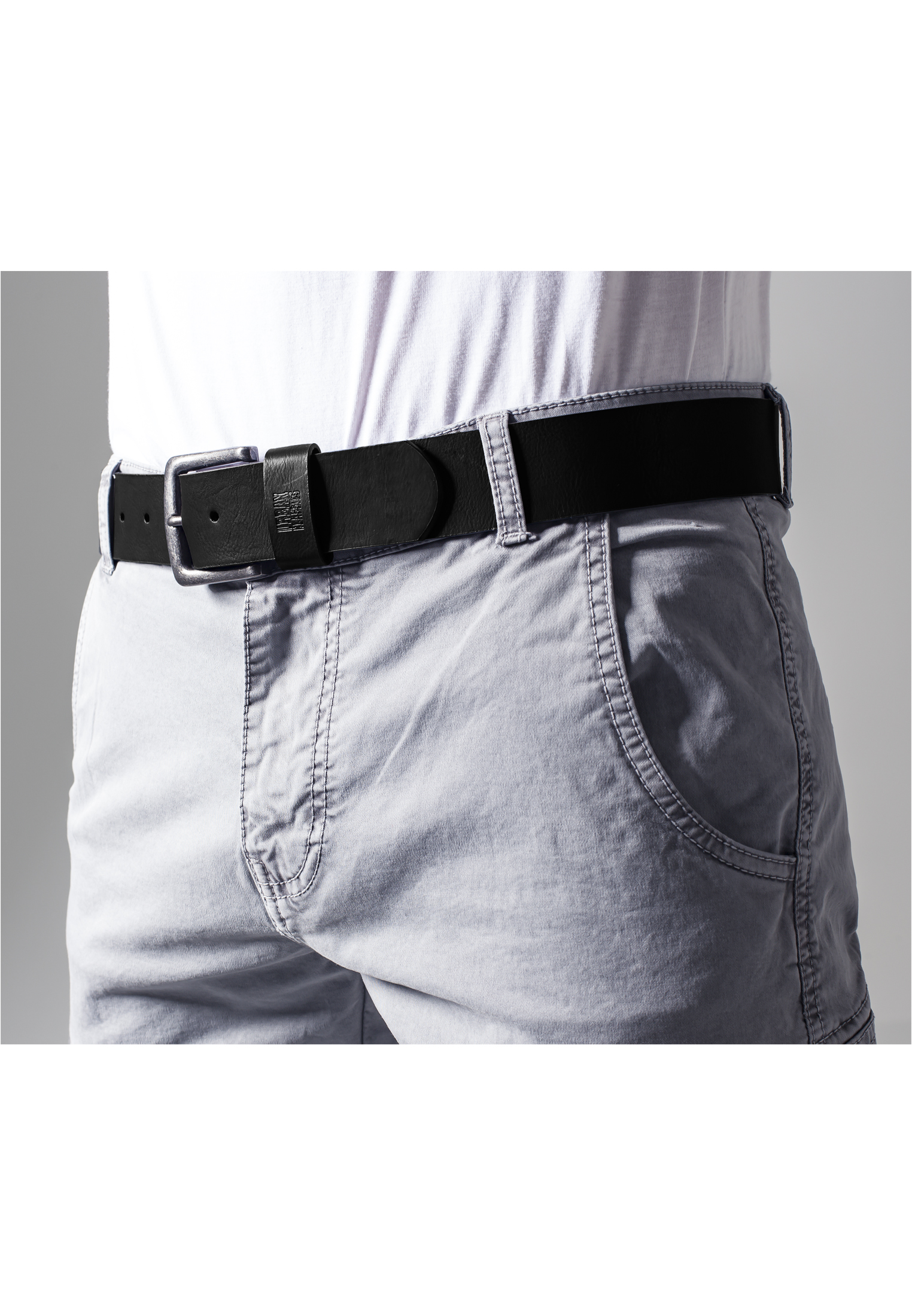 Urban-Classics-Herren-Guertel-casual-Leather-Imitation-Belt Indexbild 3