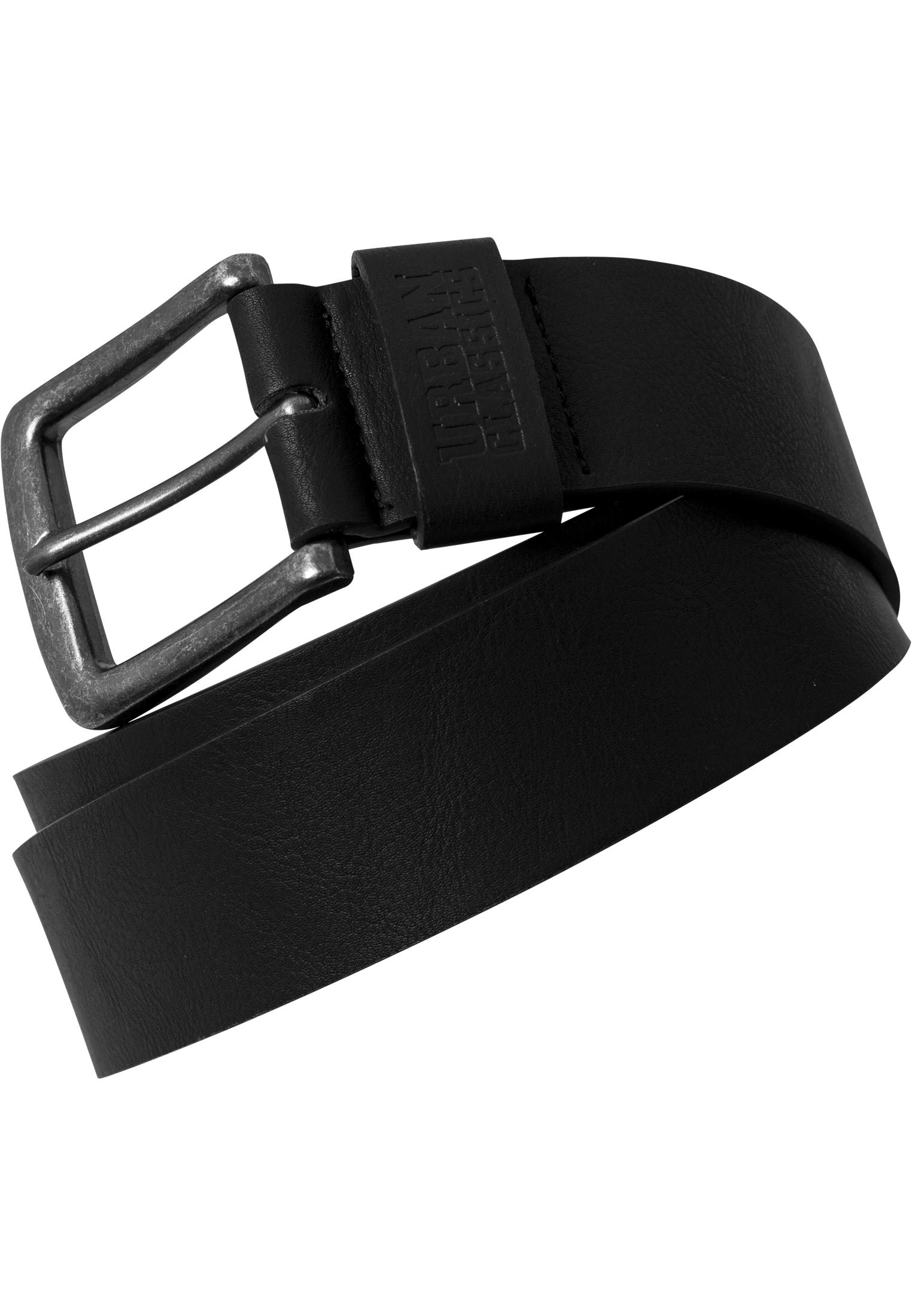 Urban-Classics-Herren-Guertel-casual-Leather-Imitation-Belt Indexbild 5