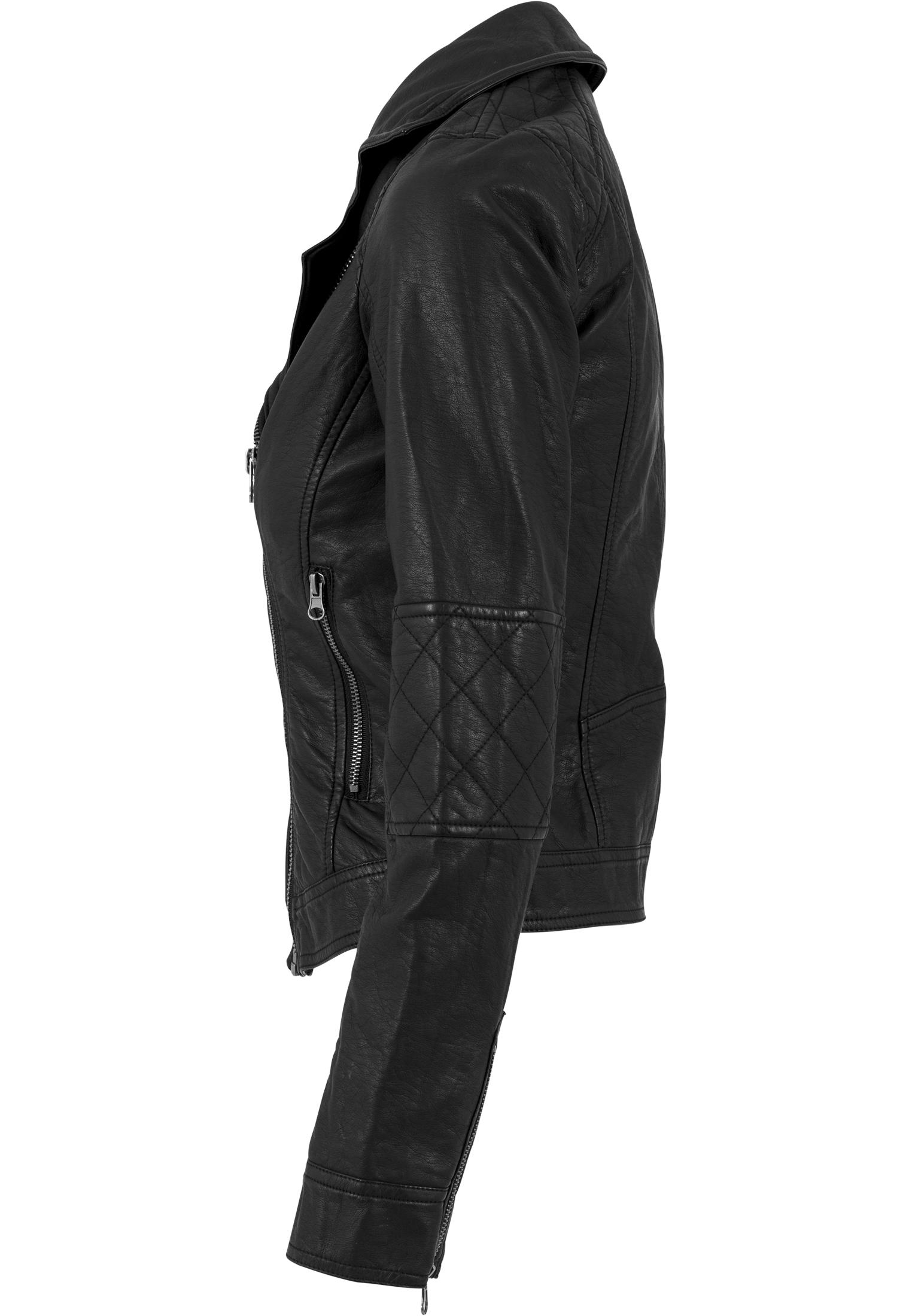 Women´s parka Urban classics Ladies Leather Imitation