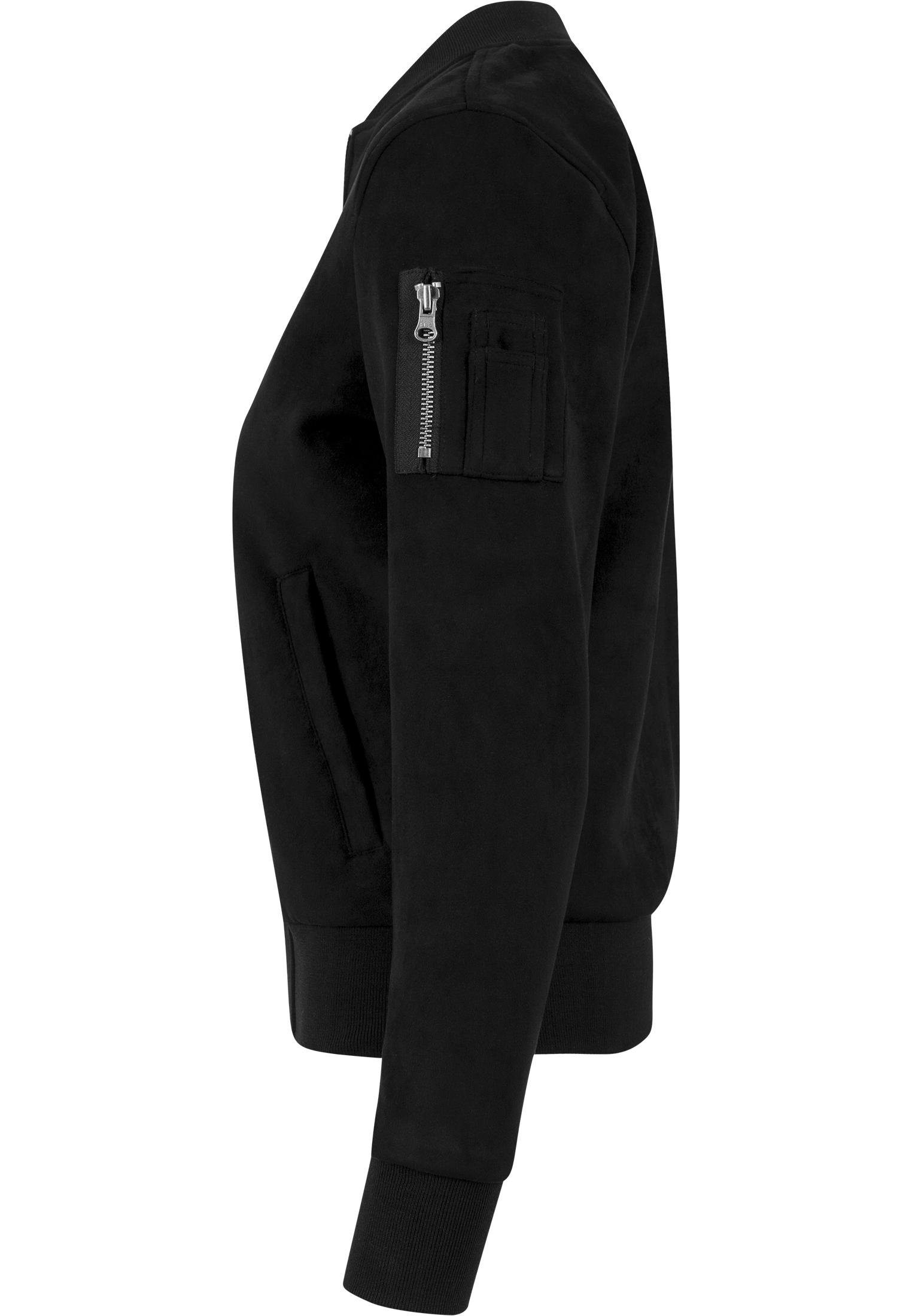Urban Classics Veste Femmes Dames Imitation SUEDE Bomber Jacket