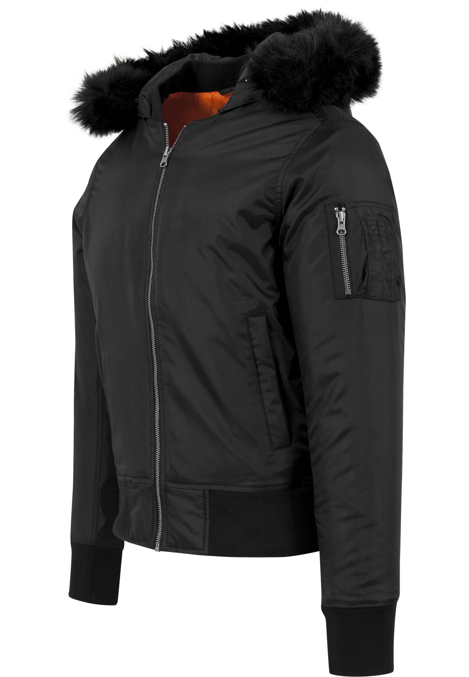 ... Hooded Basic Bomber Jacket ... 18a9f8646ff