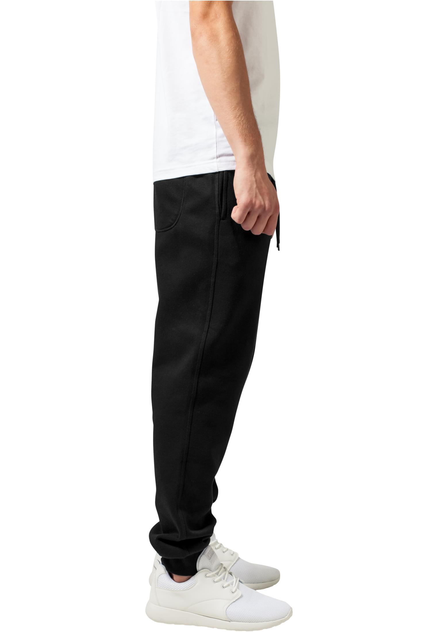 URBAN CLASSICS Pantaloni in felpa uomo sportivo Basic Sweatpants TB1582