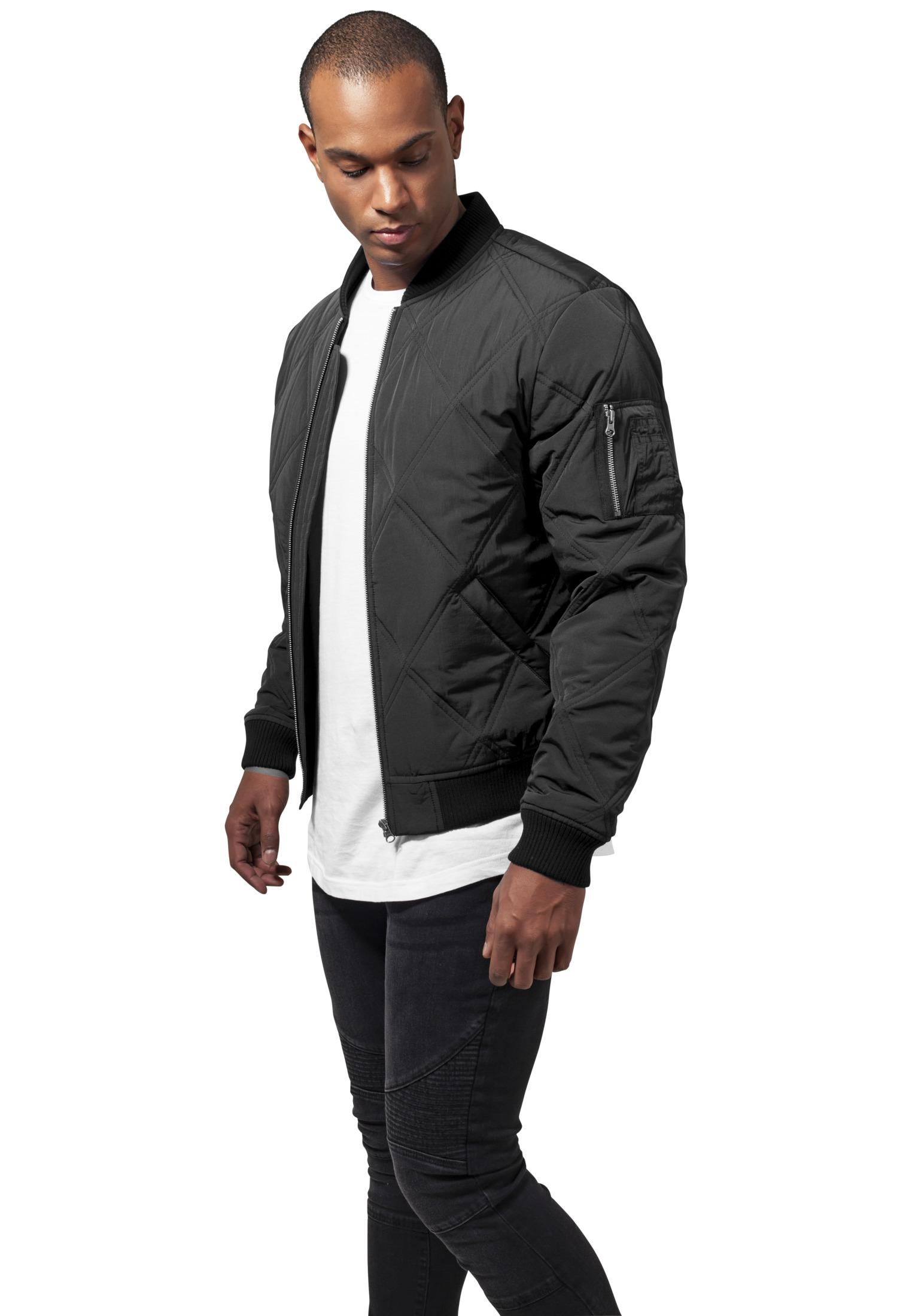 Urban Classics Herren Leichte Jacke Übergangsjacke Oversized Bomber Jacket