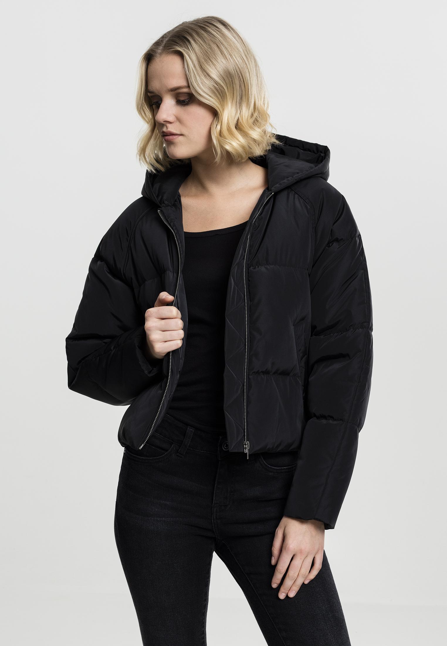 Ladies Hooded Oversized Puffer Jacket TB1758
