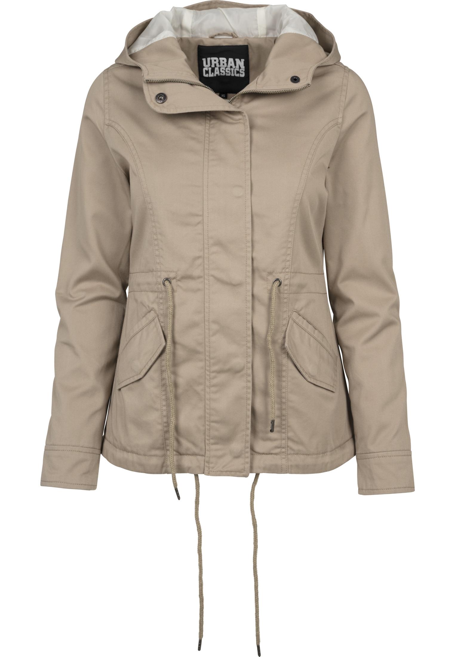 f1e02bd479fedd Urban Classics Ladies Basic Cotton Parka Damen Jacke | eBay