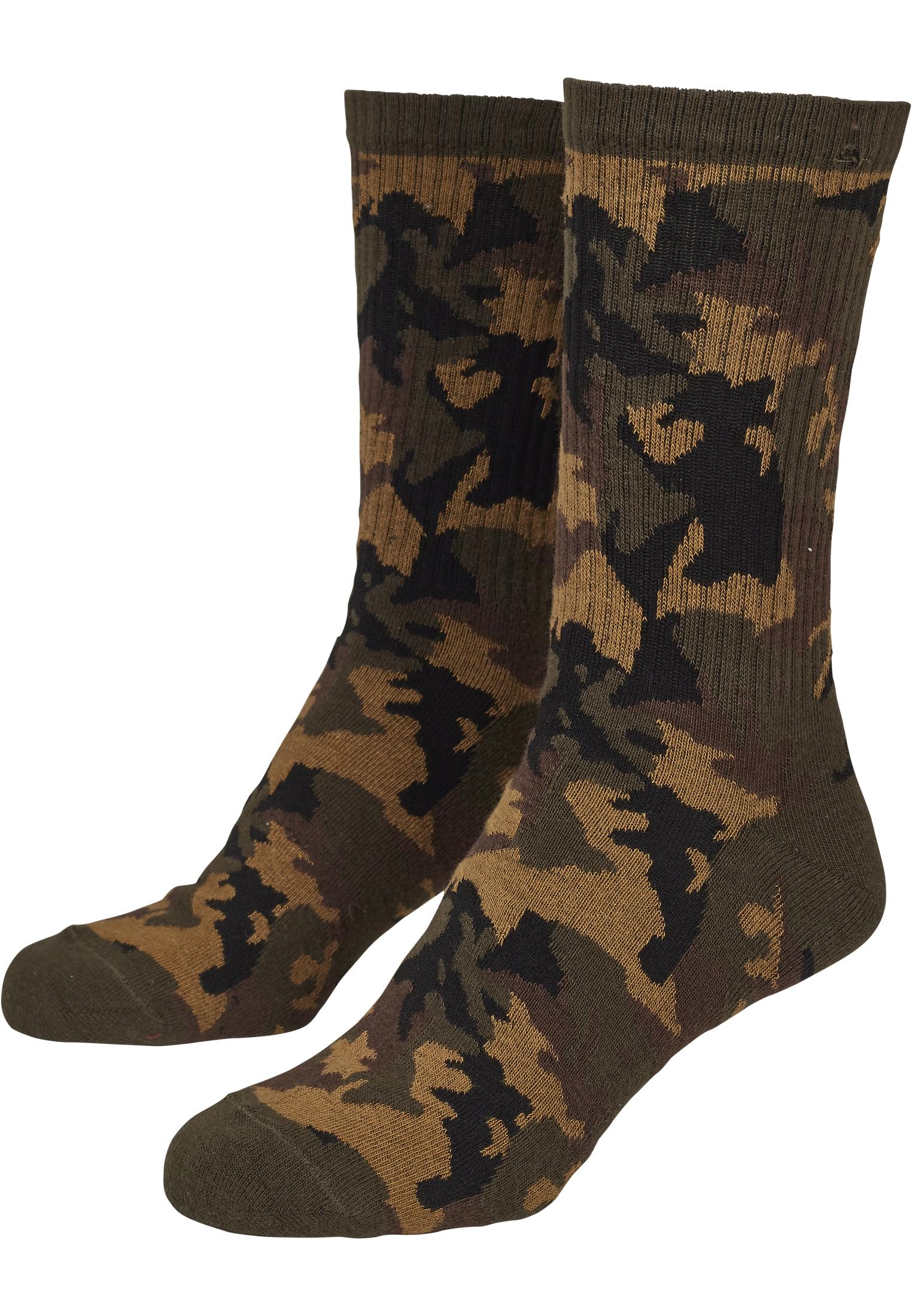 Camo Socks 2 Pack Tb2161