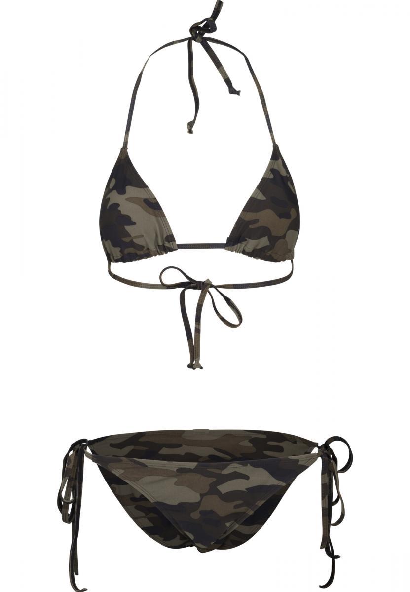 Urban Classics Ladies CAMO Swimwear Bikini