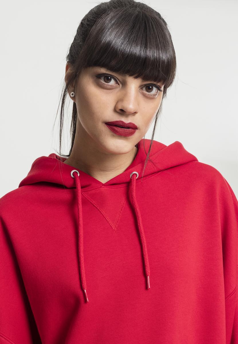Urban Classics Damen Kapuzenpullover Hoodie Sweatshirt Ladies Oversize Hoody