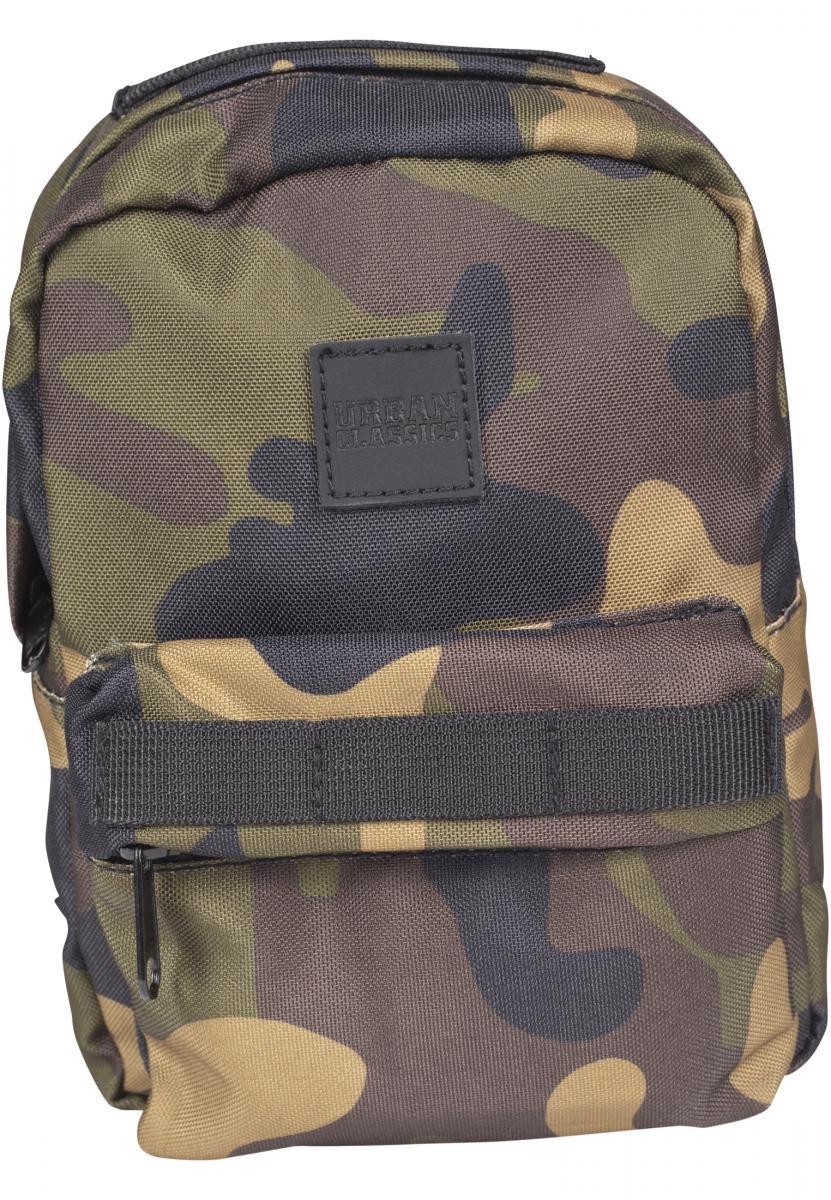 Urban Classics Herren Rucksack Midi Nylon Backpack