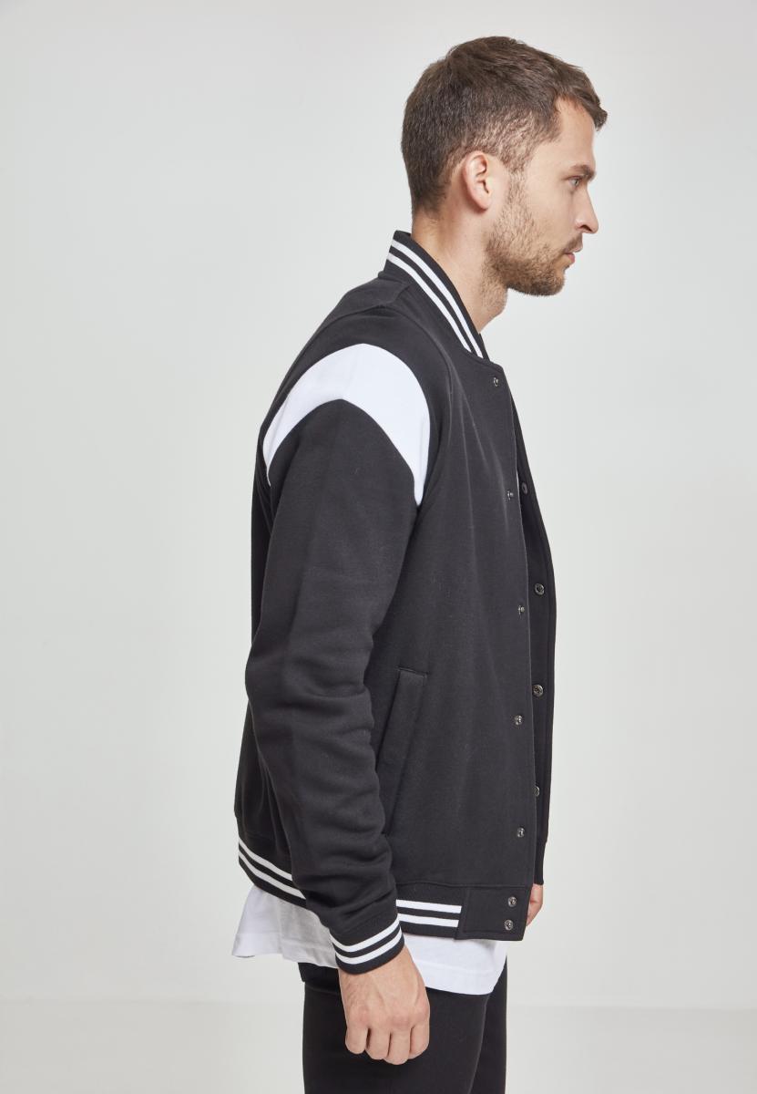Urban Classics Inset College Sweat Jacket Veste de Sport Homme