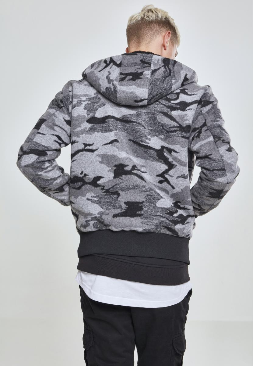 Urban Classics Camo Zip Jacket TB2409