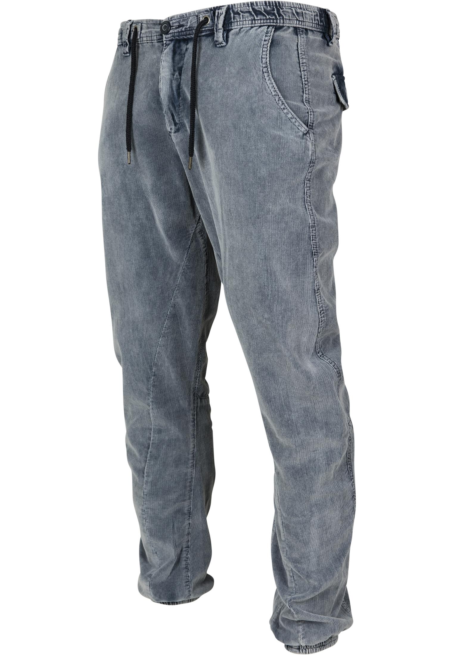 Urban Classics Herren Hose Acid Washed Corduroy Sweatpants Cord