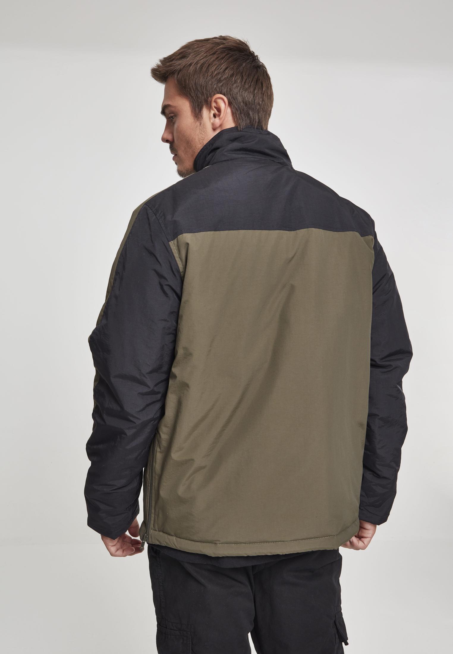 Urban Classics señores Windbreaker lluvia chaqueta chaqueta 2-Tone Padded pull over