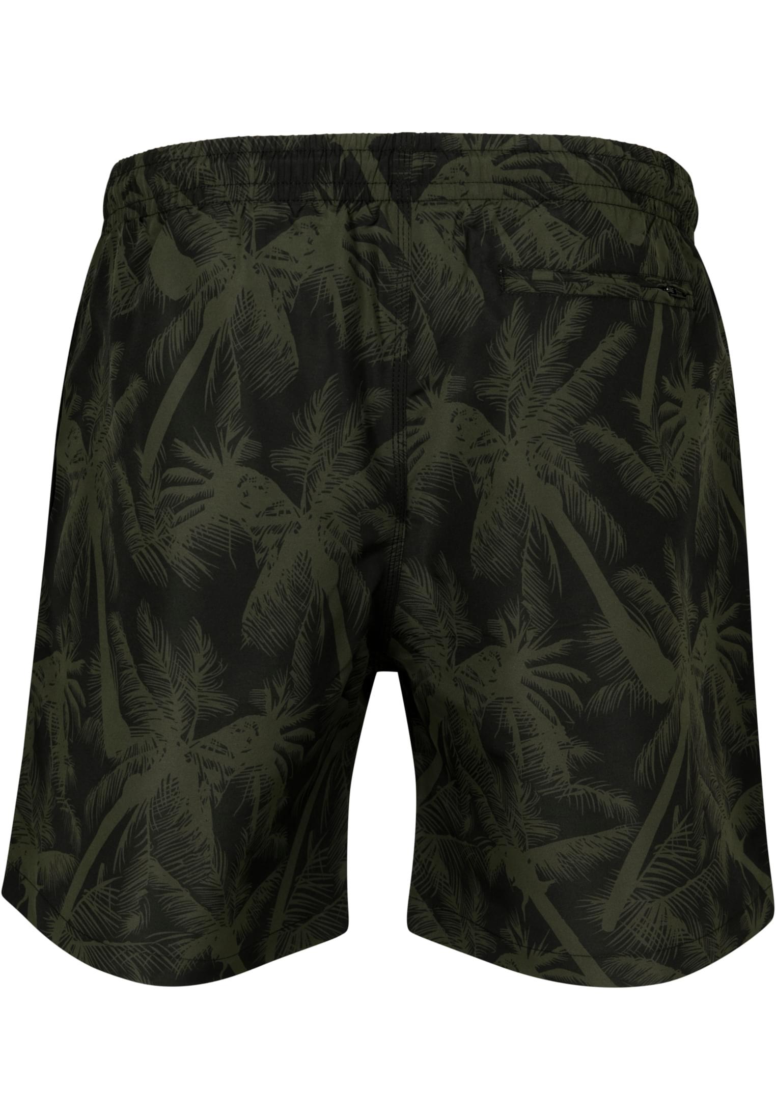 Urban Classics Hommes Maillot Bain secondé dévoile Pattern Swim Shorts