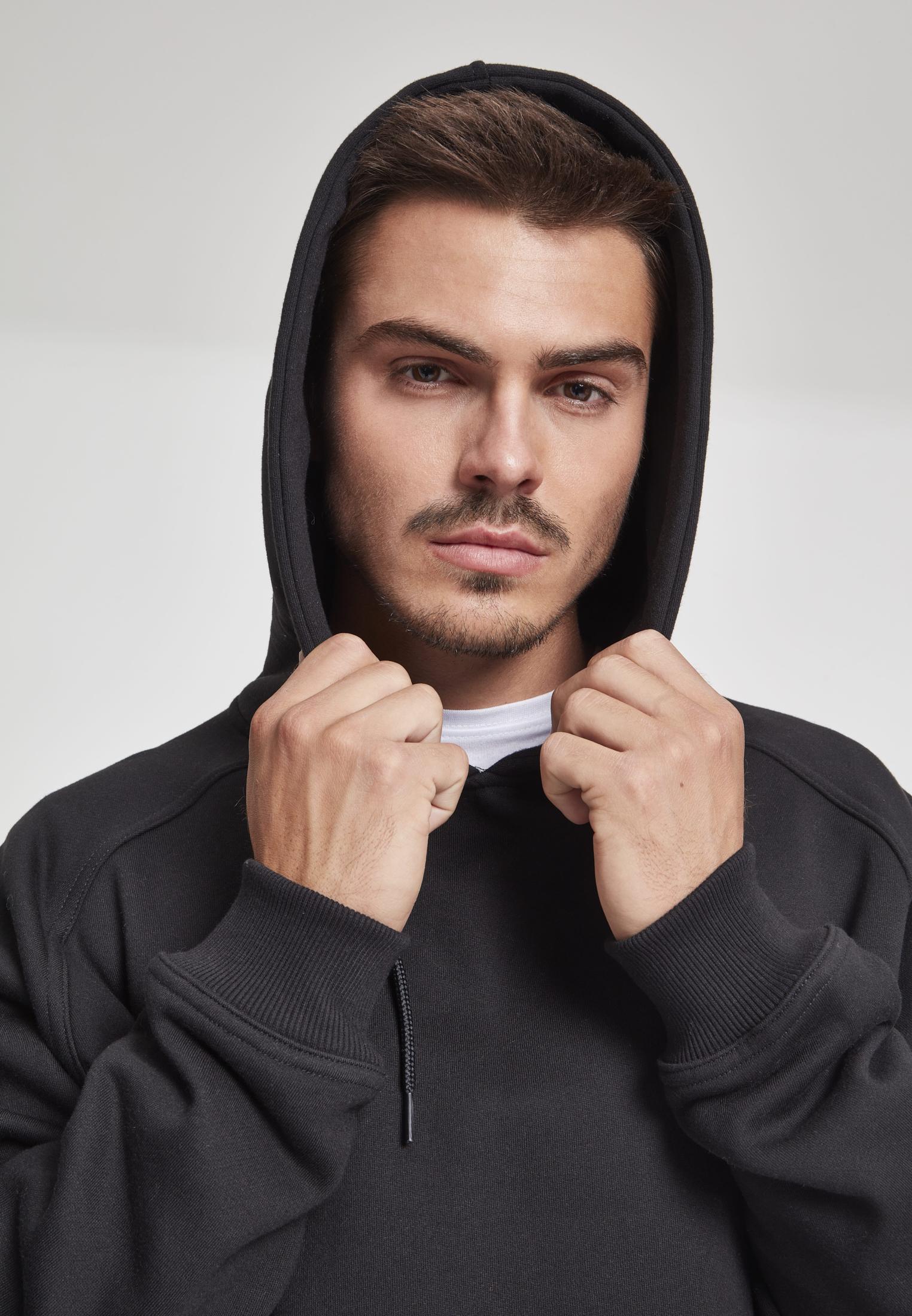 Urban Classics Herren Kapuzenpullover Hoodie Sweatshirt Double Layer Hoody