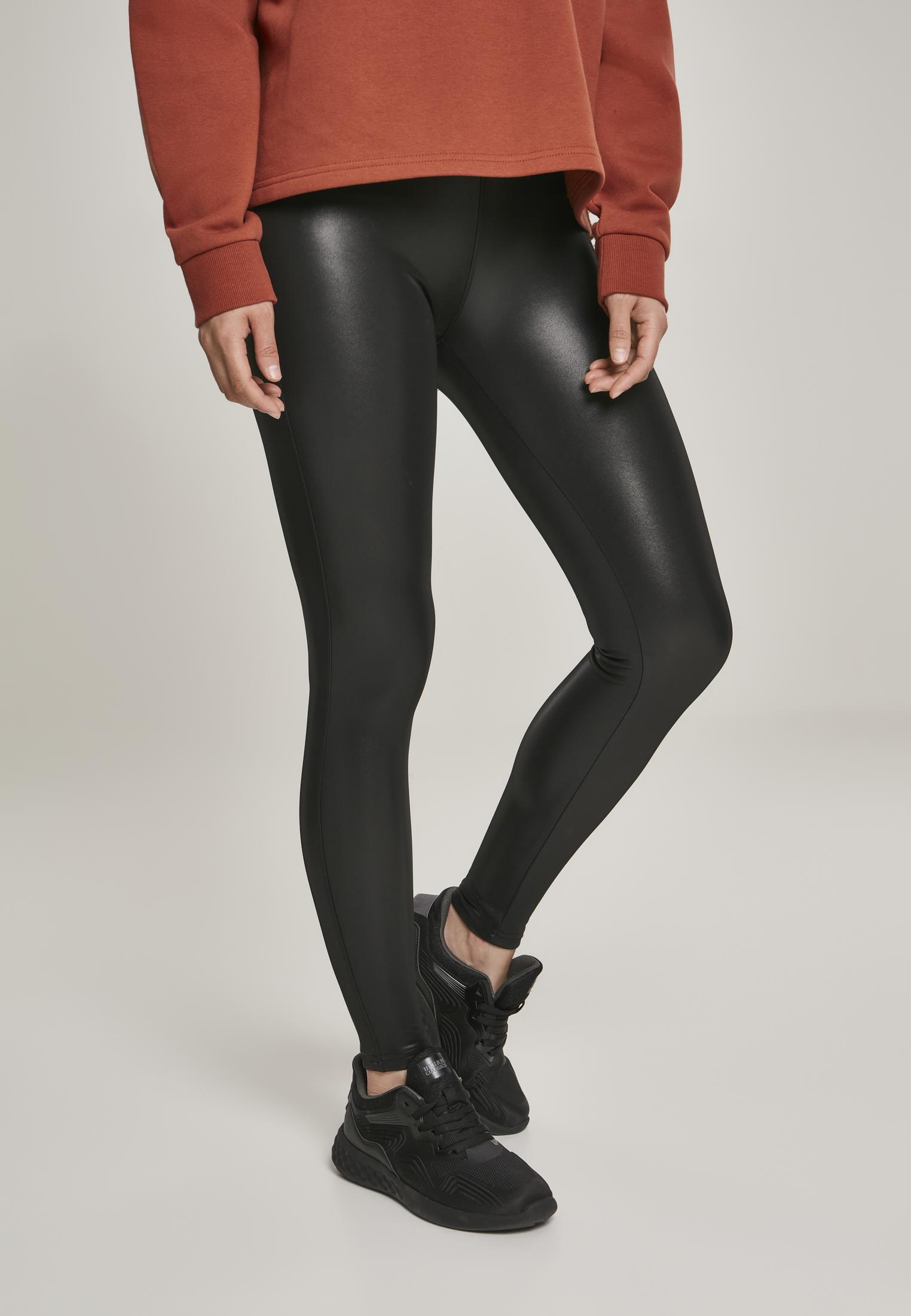 Ladies Faux Leather Leggings TB20