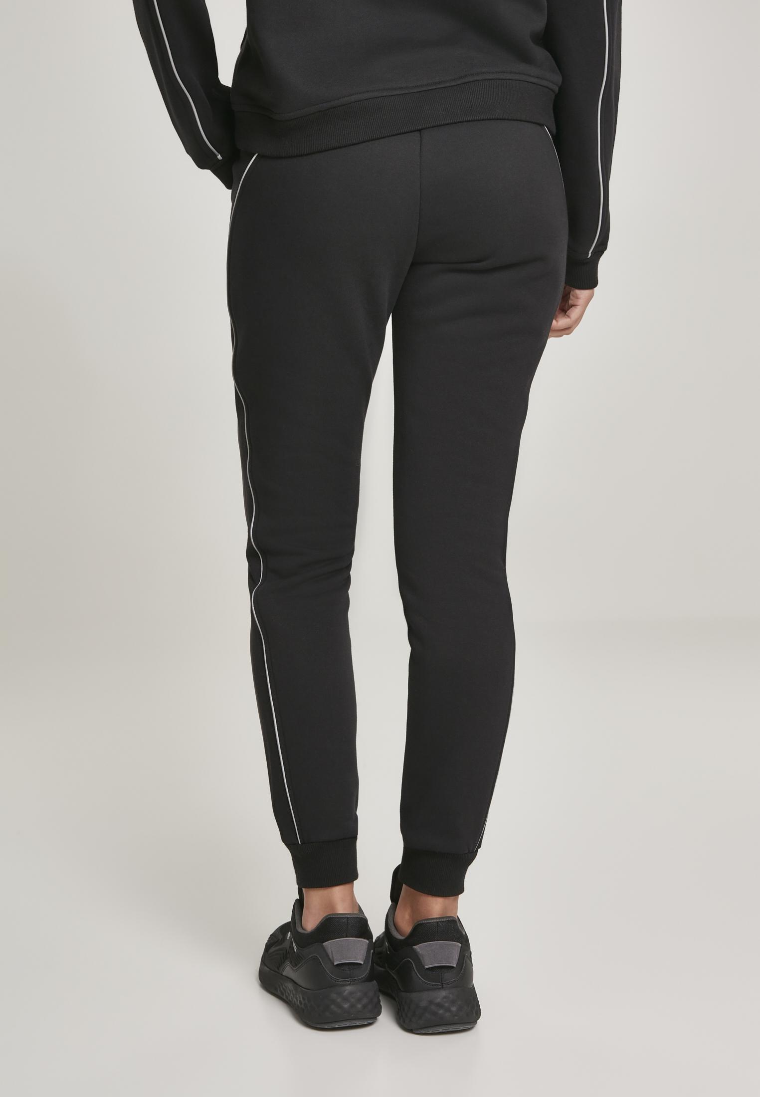 REFLECTIVE Sweatpants schwarz Urban Classics Ladies