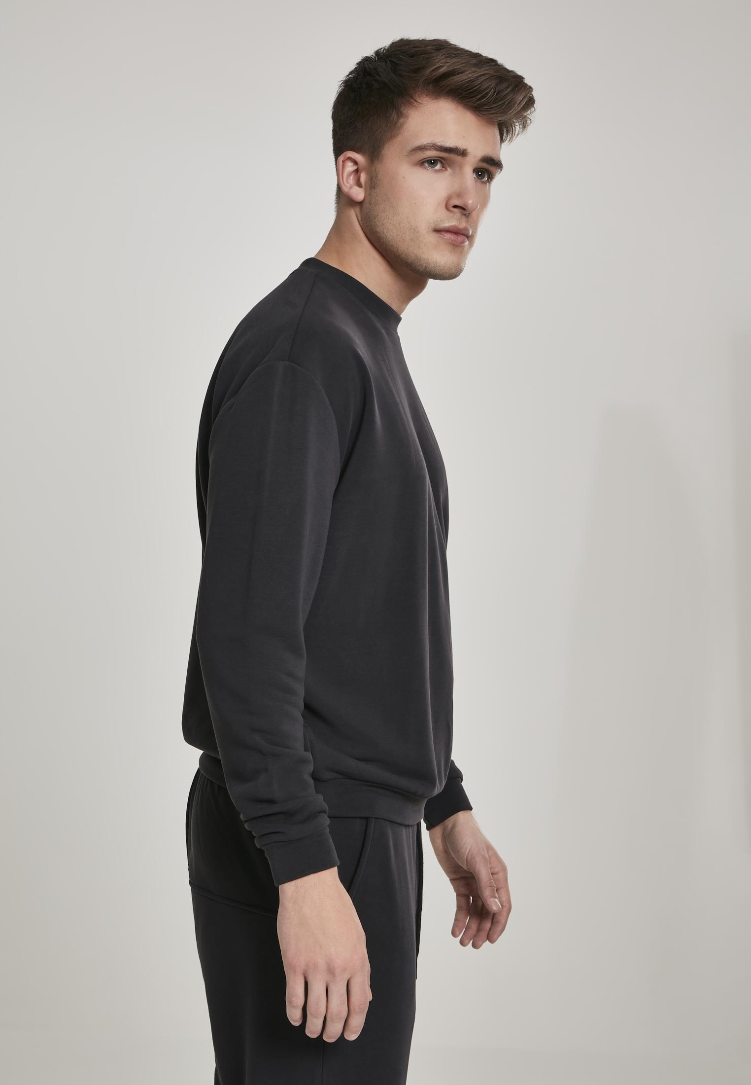 Urban Classics Herren Sweatshirt Pullover Sweater Terry Panel Crew