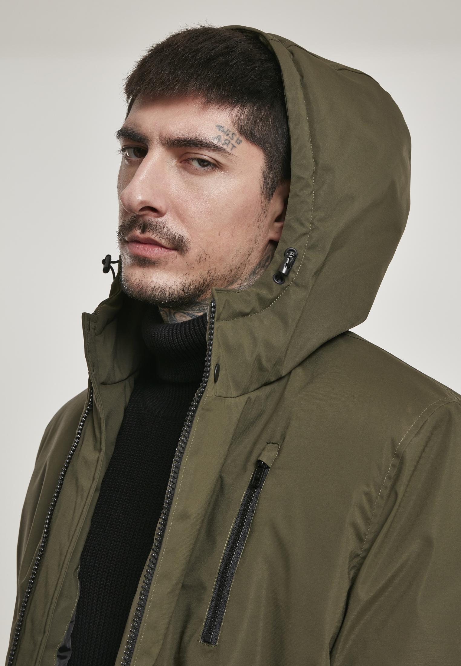 Hooded Sporty Zip Jacket TB3146