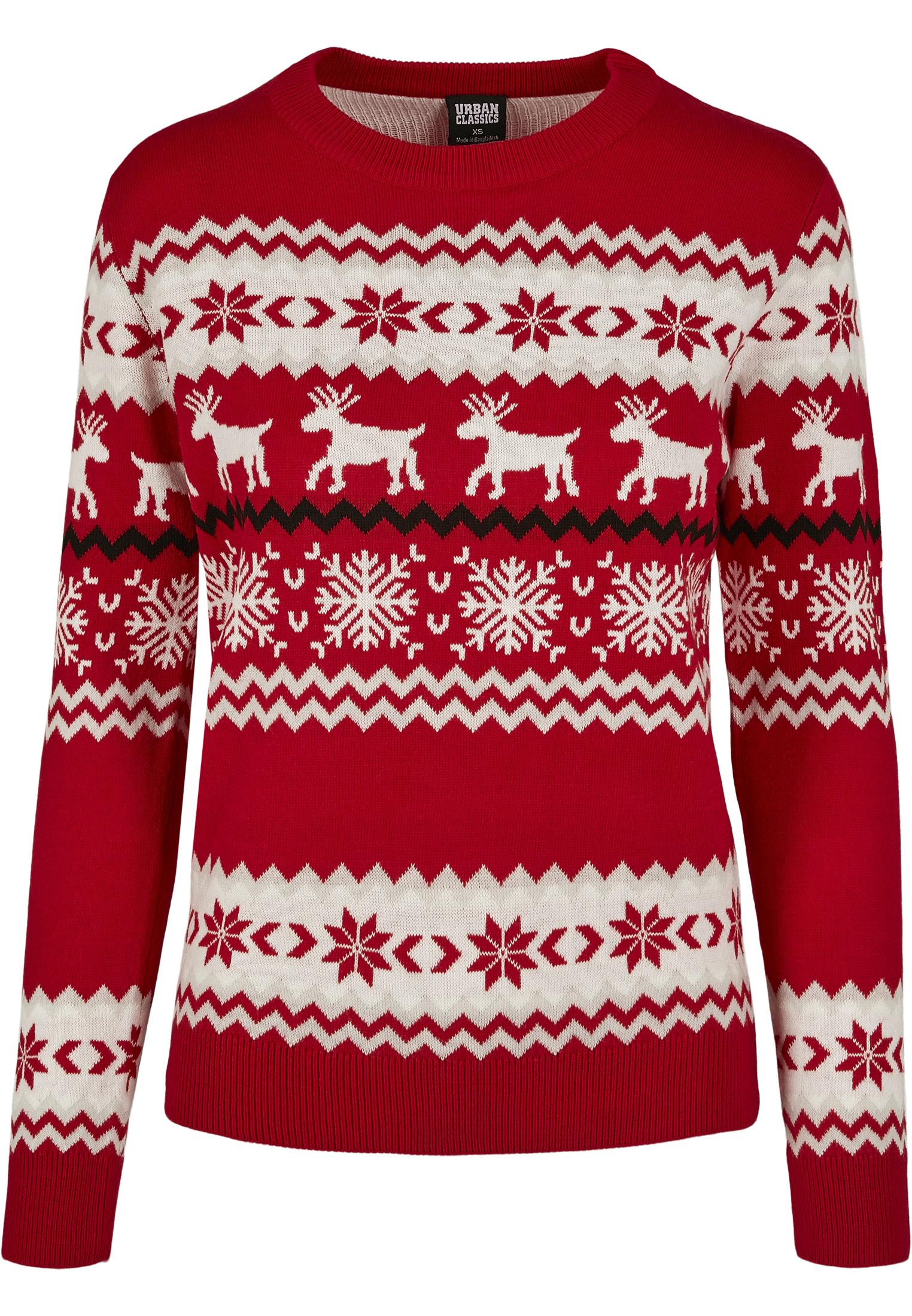 Ladies Norwegian Christmas Sweater TB3240