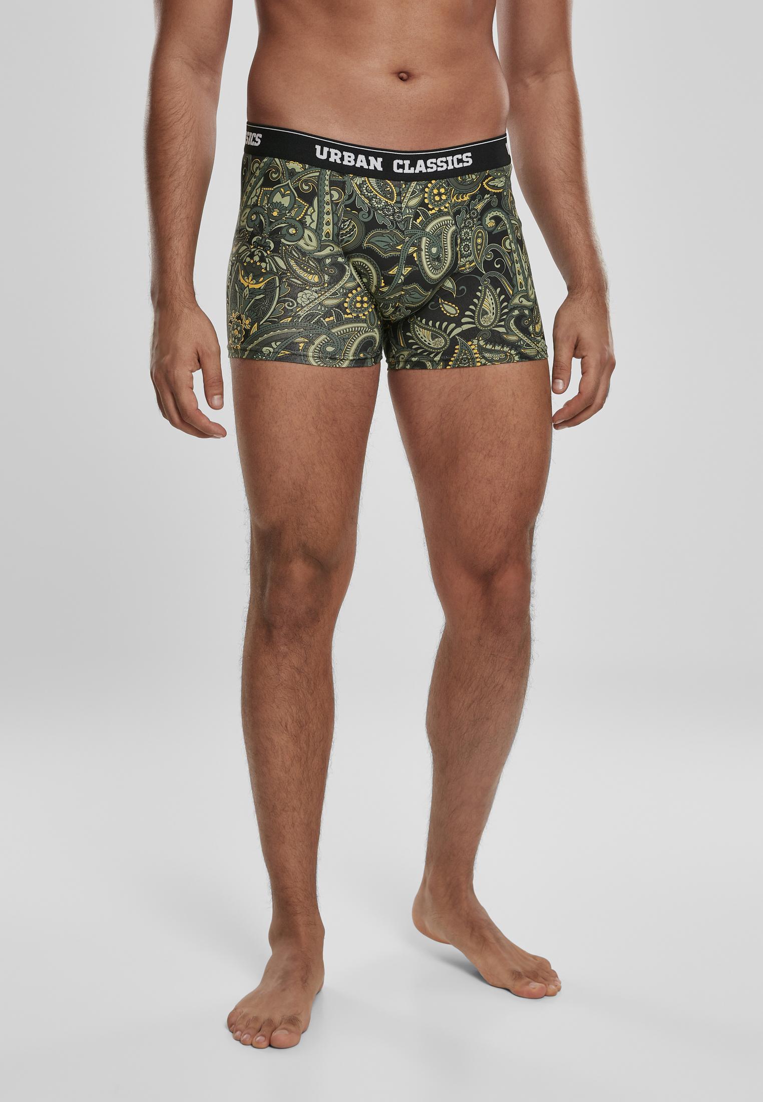 Urban Classics Boxer Shorts 3-Pack De Sous-vêtements Shorts que je bois Slip