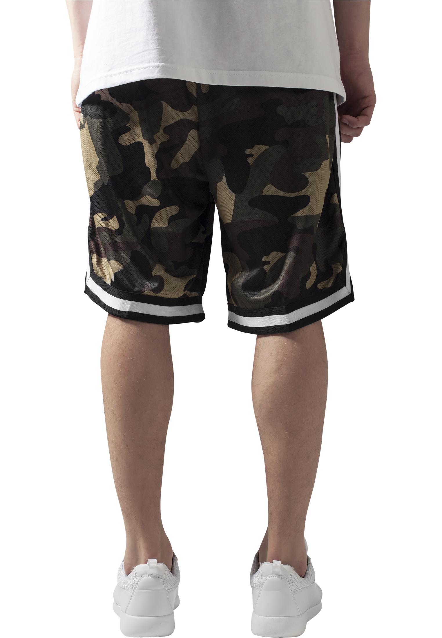 ea6f82a862 ... Camo Stripes Mesh Shorts ...