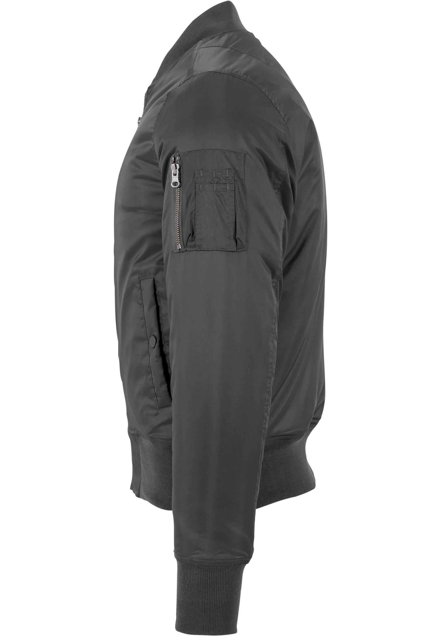 Urban Classics Herren Leichte Jacke Übergangsjacke Basic Bomber Jacket