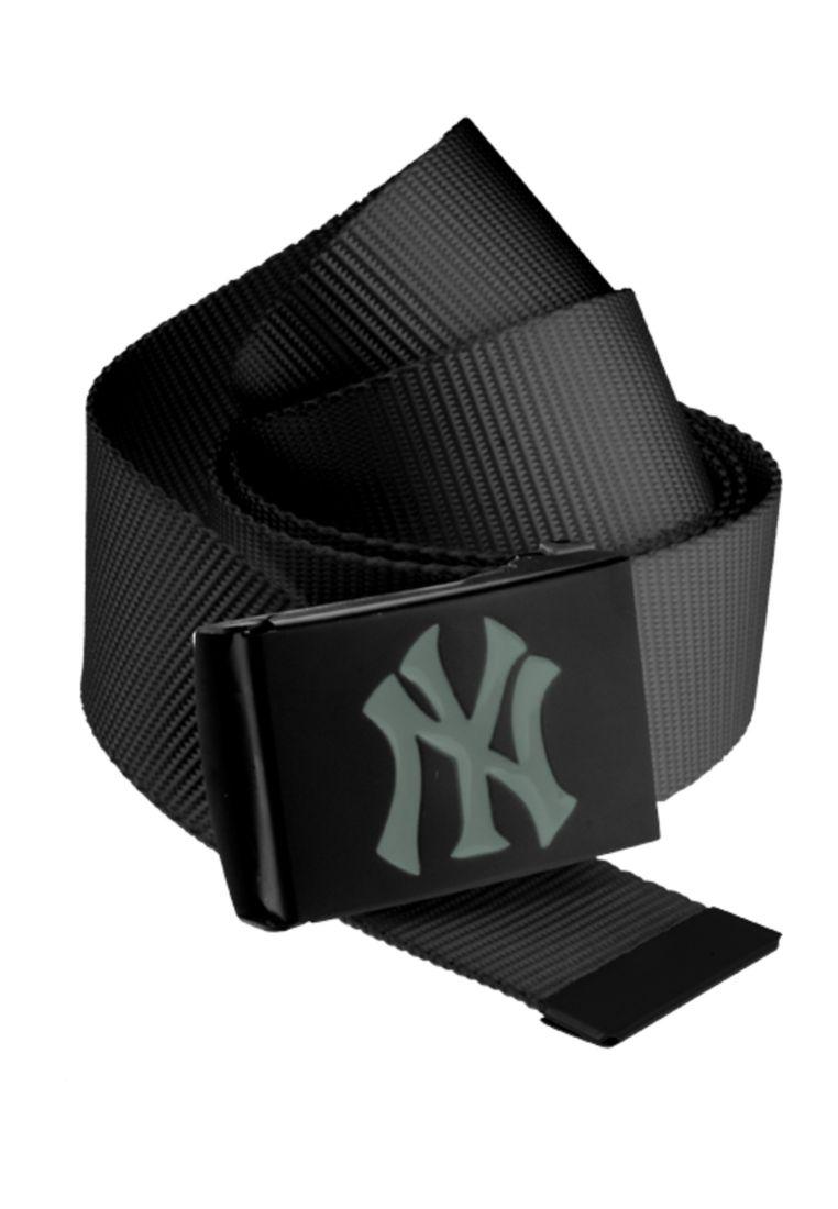MLB Premium Black Woven Belt Single