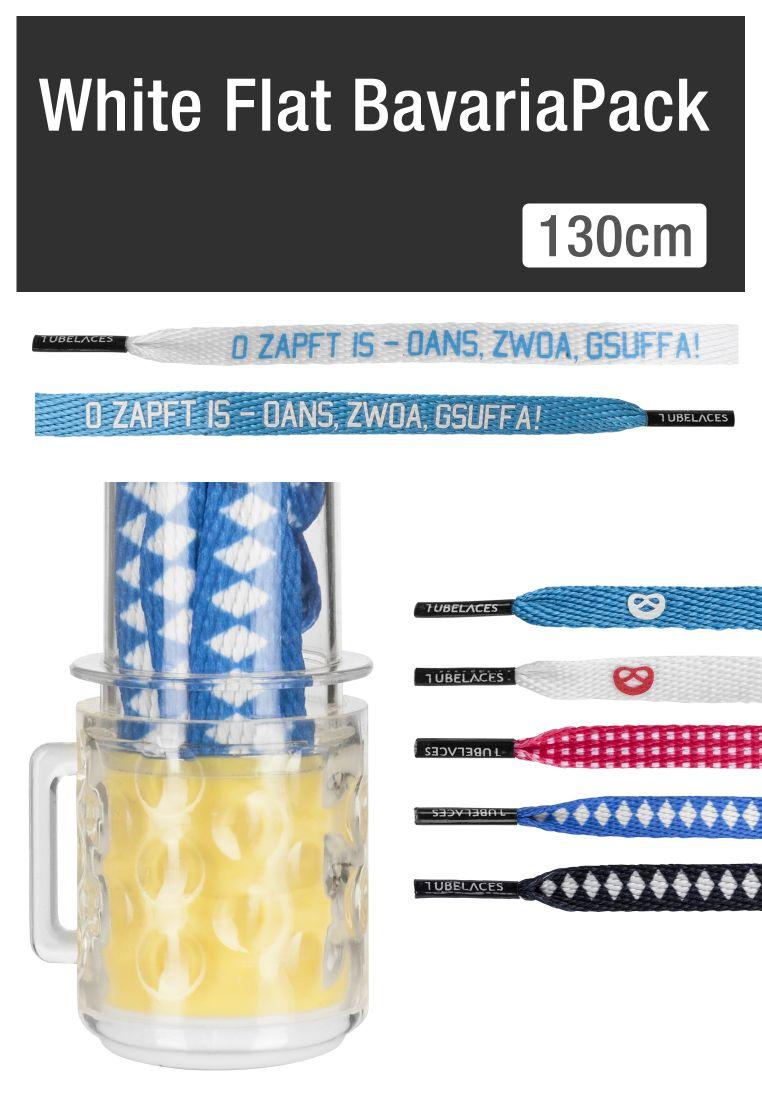 White Flat BavariaPack (Pack of 5 pcs.)
