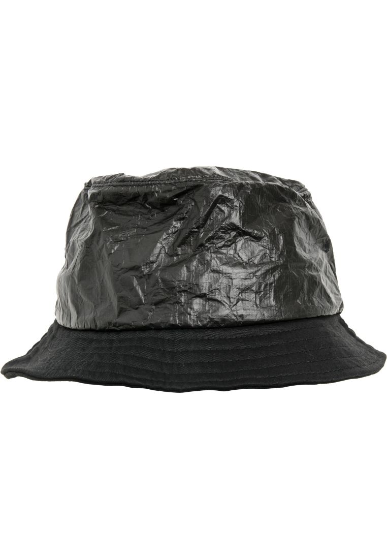 Crinkled Paper Bucket Hat - LIPPIKSET JA HATUT - TTU5003CP - 1