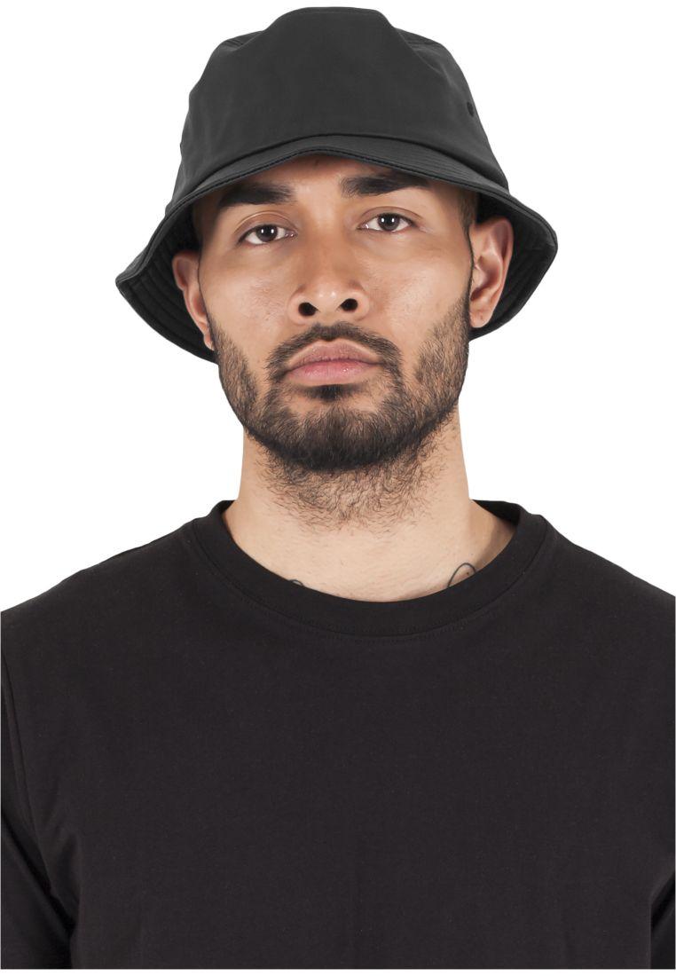 Full Leather Imitation Bucket Hat - LIPPIKSET JA HATUT - TTU5003FL - 1