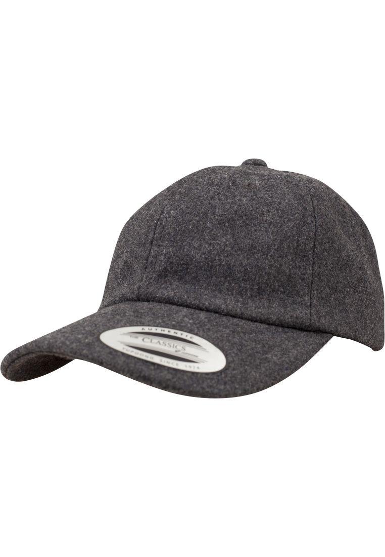 Low Profile Melton Wool Dad Cap - LIPPIKSET JA HATUT - TTU6245MW - 1