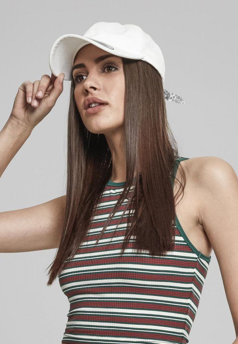 Curved Bandana Tie Snapback - LIPPIKSET JA HATUT - TTU7706BS - 1