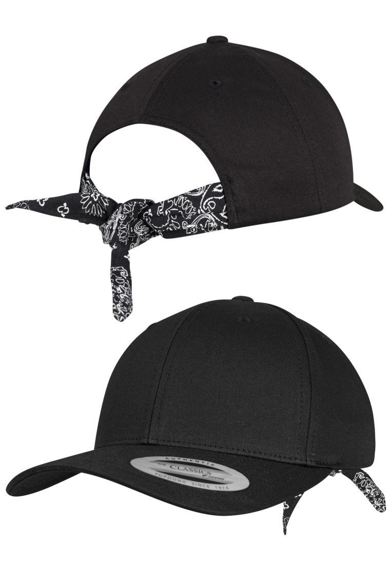 Curved Bandana Tie Snapback - TILAUSTUOTTEET - TTU7706BS - 1