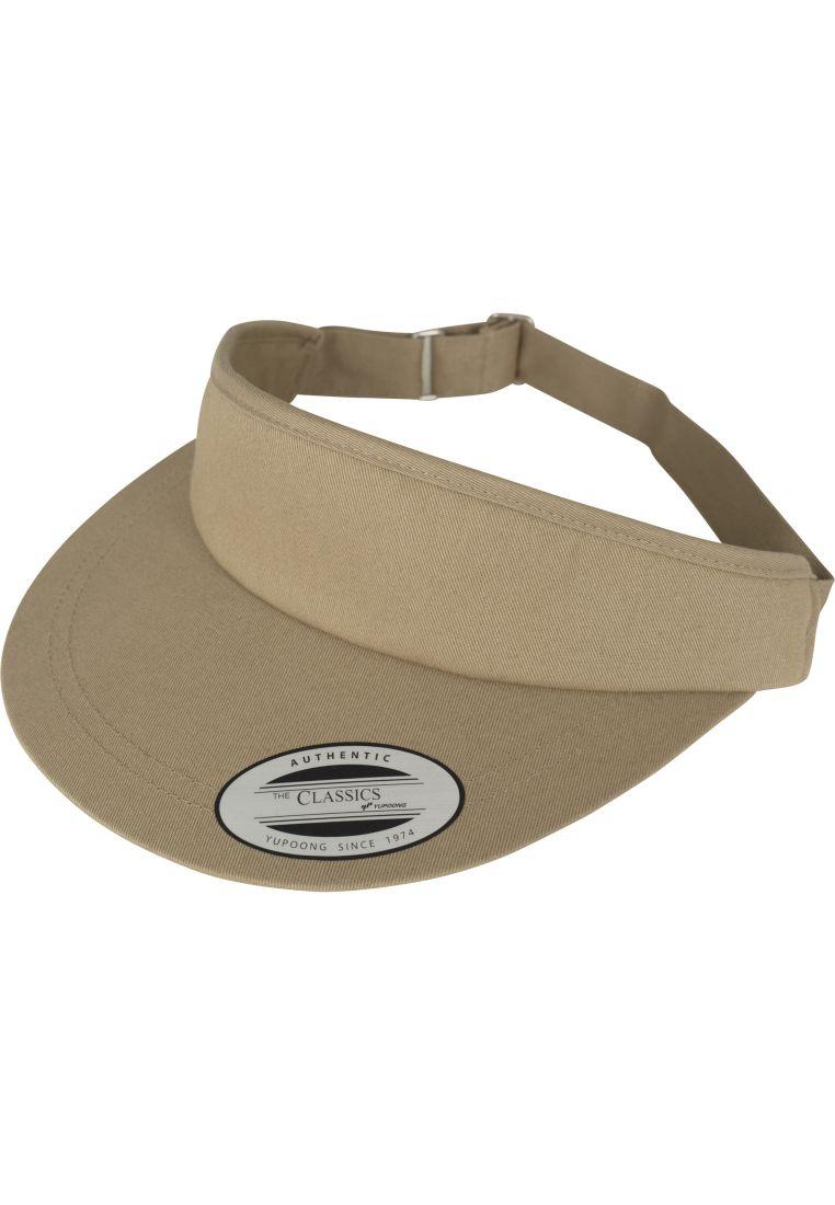 Flat Round Visor Cap