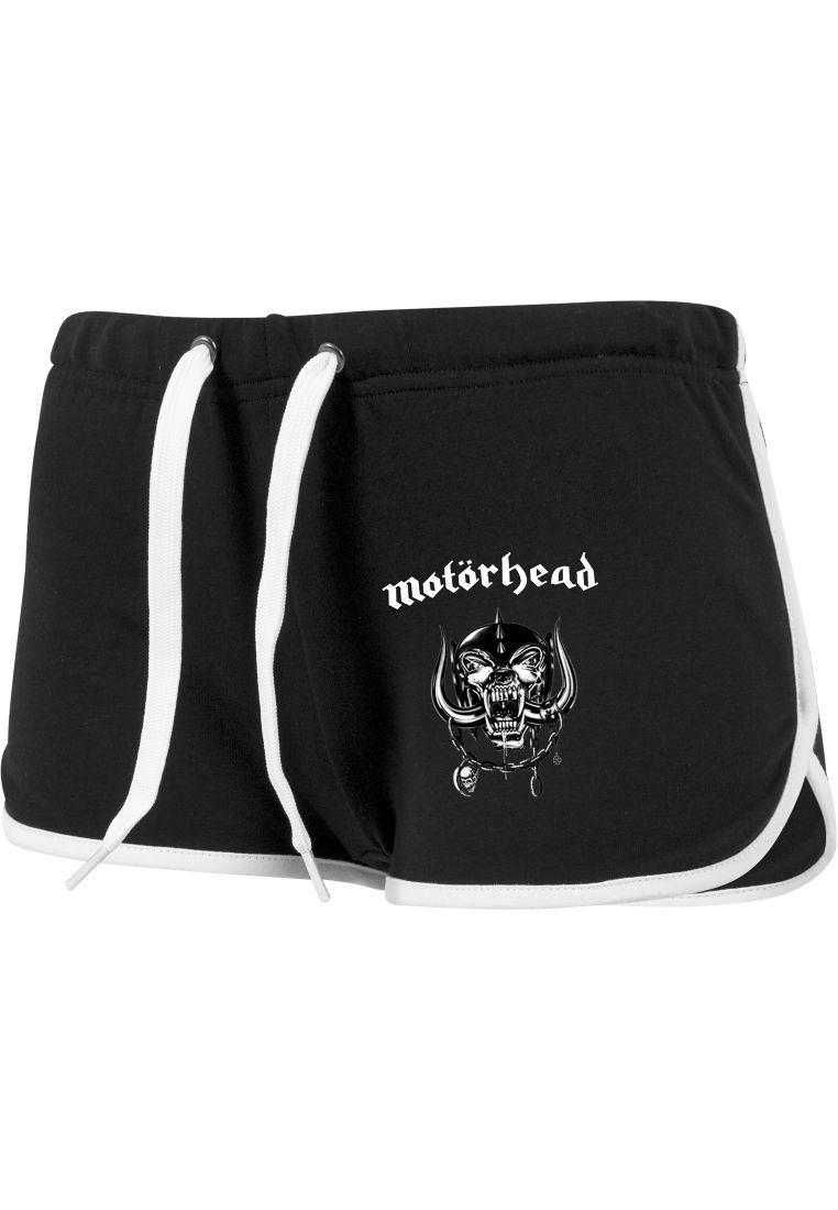 Ladies Motörhead Logo French Terry Hotpants - HOUSUT JA SHORTSIT - TTUMC003 - 1
