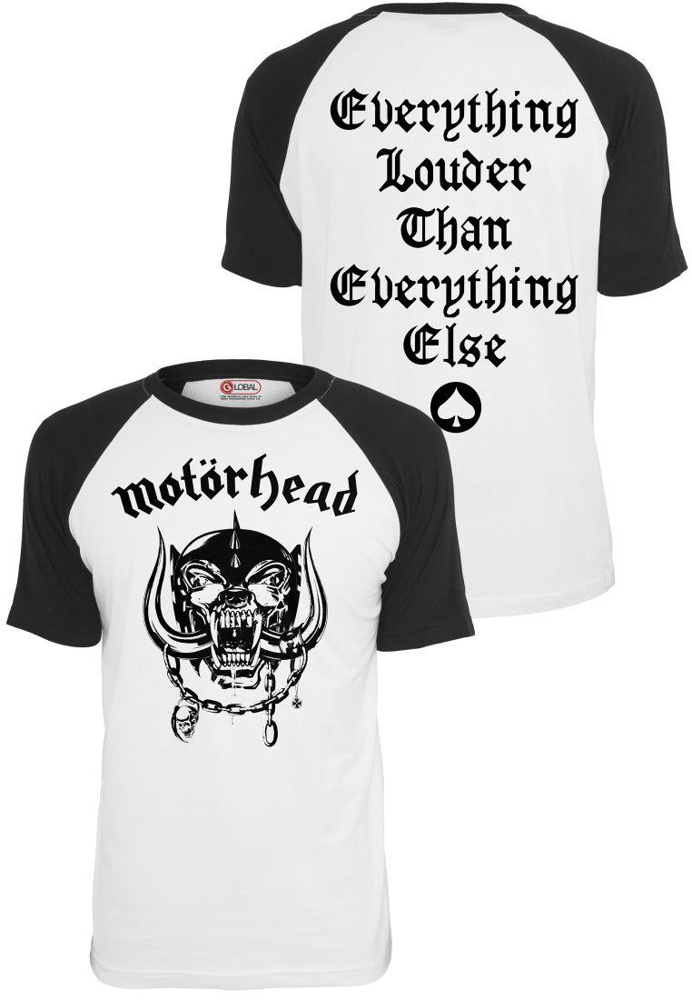 Motörhead Everything Louder Raglan Tee - T-PAIDAT - TTUMC007 - 1