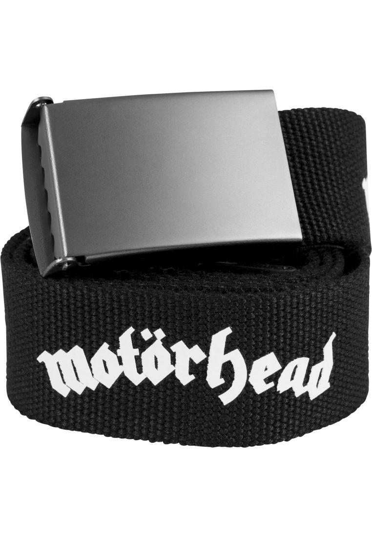 Motörhead Canvas Belt - ASUSTEET - TTUMC008 - 1