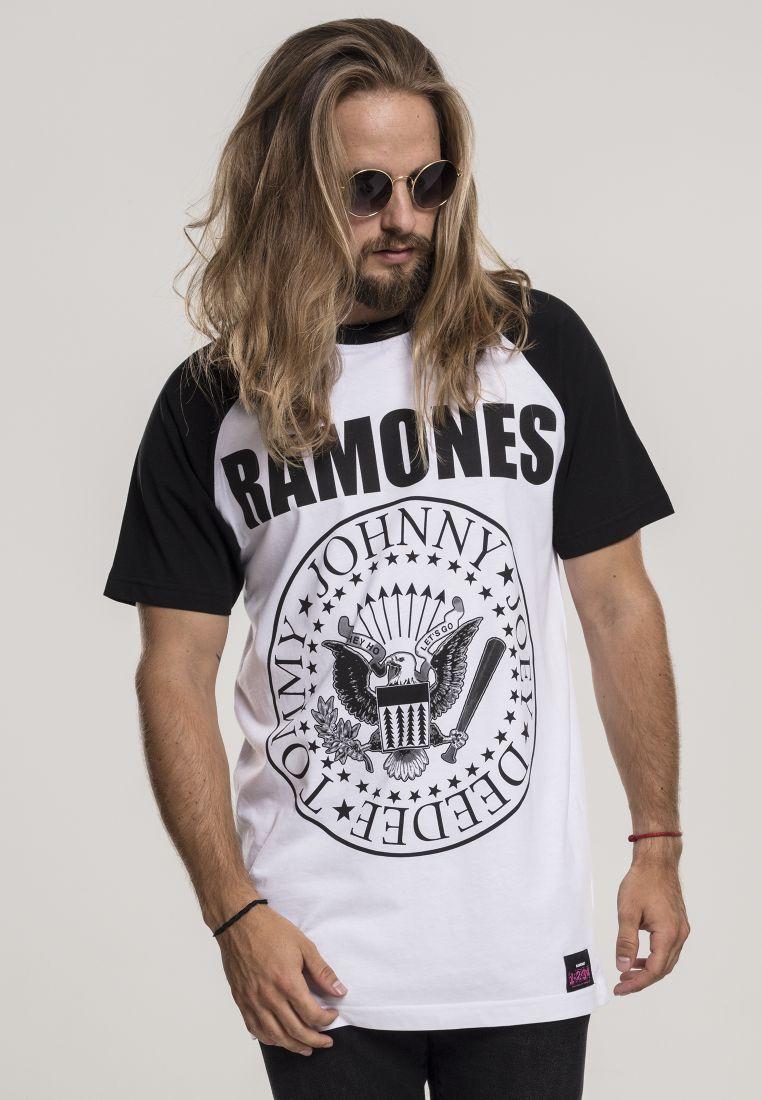 Ramones Circle Raglan Tee - T-PAIDAT - TTUMC061 - 1
