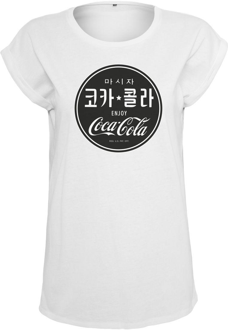 Ladies Coca Cola Chinese Black Tee - T-PAIDAT - TTUMC065 - 1