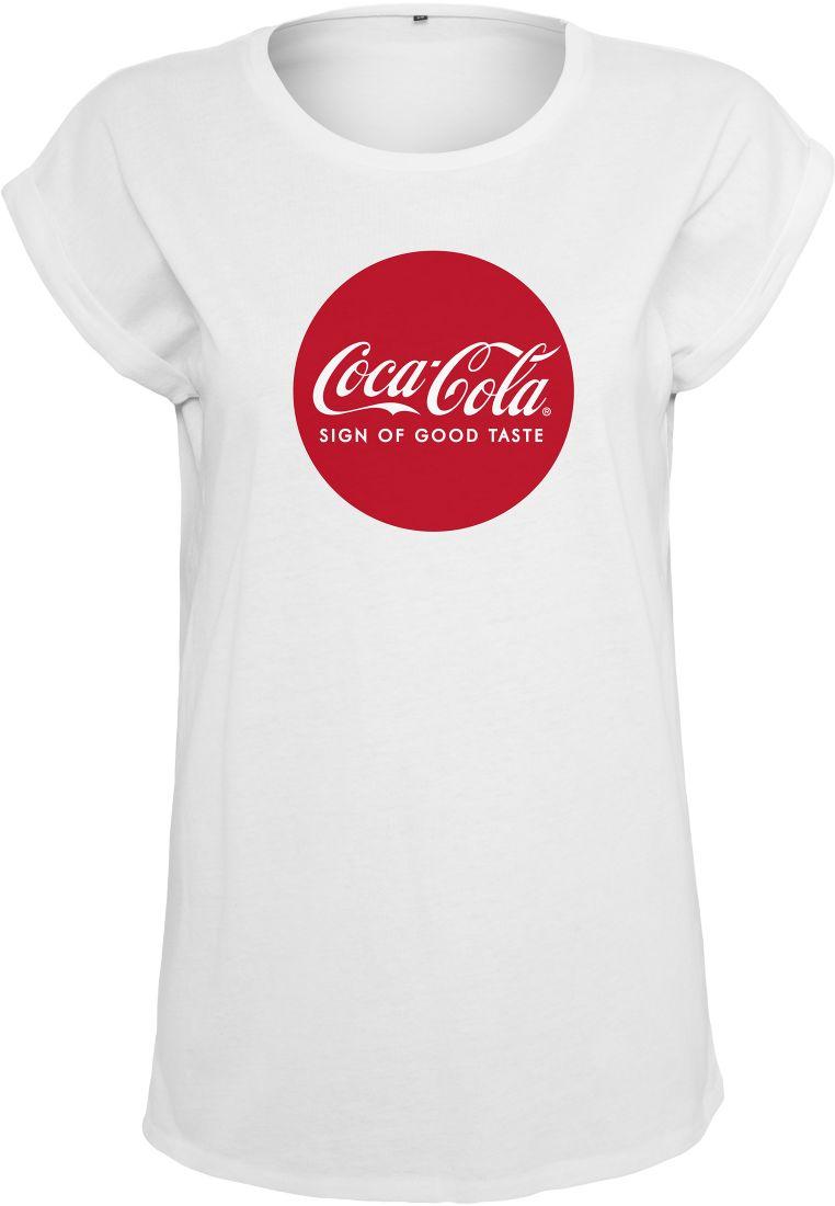 Ladies Coca Cola Round Logo Tee - T-PAIDAT - TTUMC067 - 1