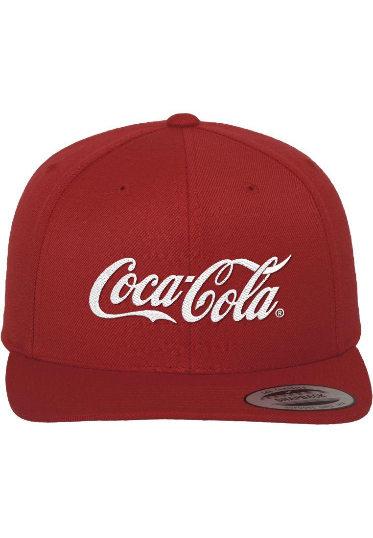 Coca Cola Logo Snapback - LIPPIKSET, HATUT JA PIPOT - TTUMC071 - 1